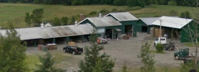Photo of Recycling center buildings